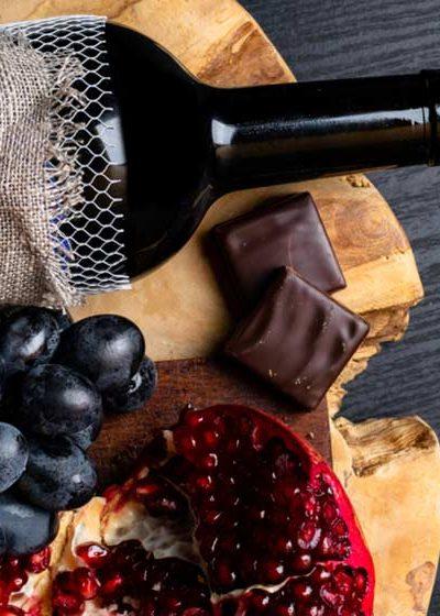 Wine Grape pomegranate_