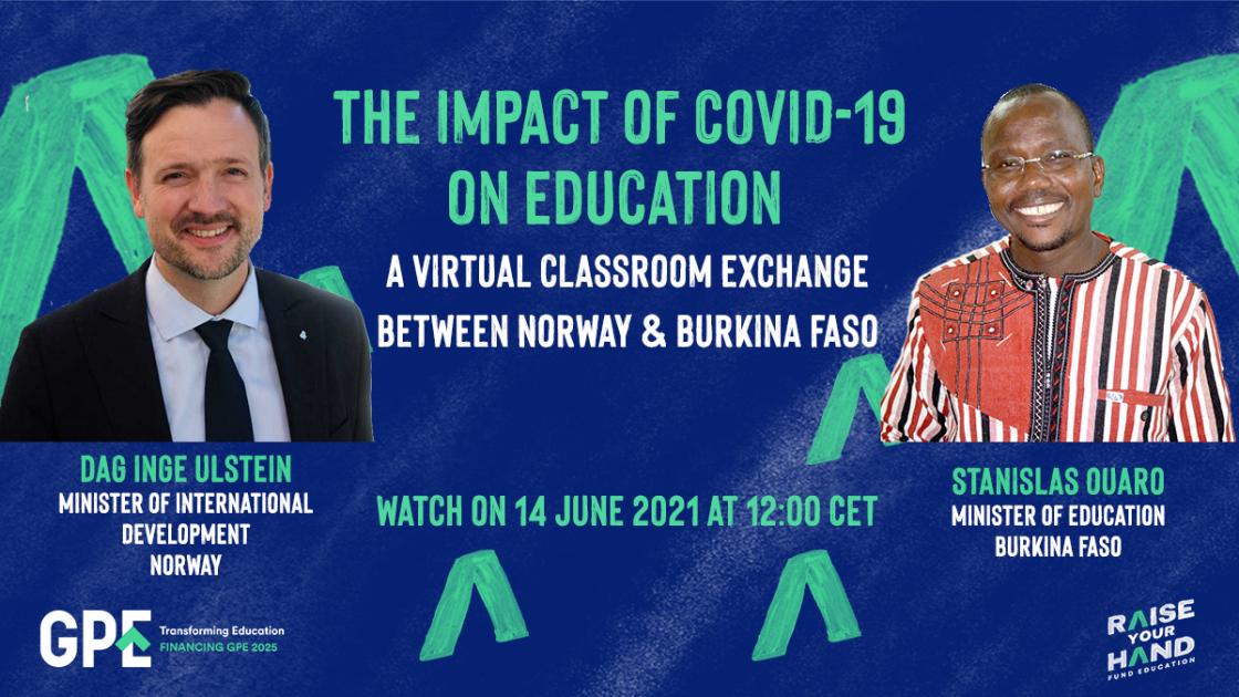 Intercambio de aula virtual: Noruega y Burkina Faso sobre COVID-19 y educación    Blog